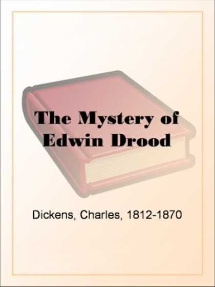 Charles Dickens Books - The Mystery of Edwin Drood