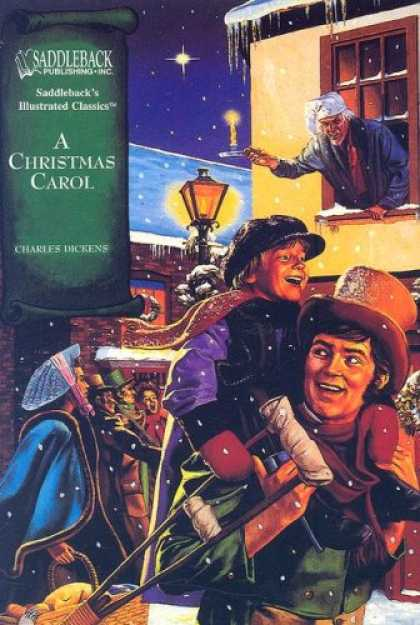 Charles Dickens Books - A Christmas Carol (Illustrated Classics)