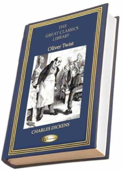 Charles Dickens Books - Oliver Twist (THE GREAT CLASSICS LIBRARY )