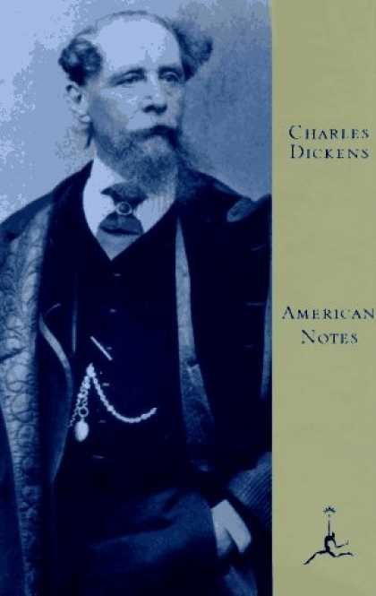 Charles Dickens Books - American Notes (Modern Library)