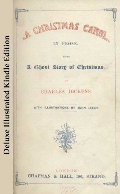 Charles Dickens Books - A Christmas Carol - Deluxe Illustrated Edition