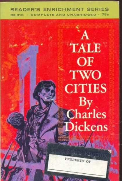 Charles Dickens Books - A TALE OF TWO CITIES:READER'S ENRICHMENT SERIES EDITION