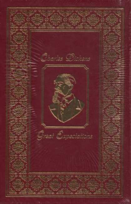 Charles Dickens Books - Charles Dickens' Great Expectations: Easton Press Brown Leatherbound Hardcover 2