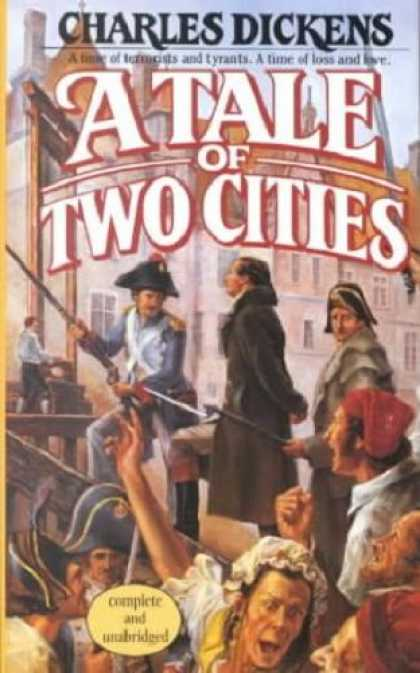 Charles Dickens Books - A TALE OF TWO CITIES (The Classic Novel - Uncut Version Reprint)