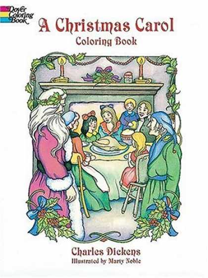 Charles Dickens Books - A Christmas Carol Coloring Book
