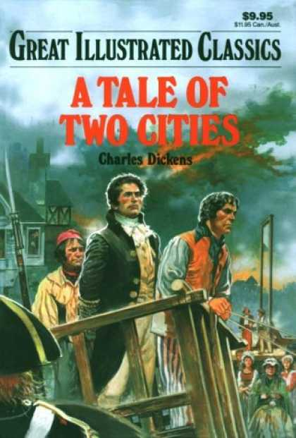 Charles Dickens Books - Tale of Two Cities (Great Illustrated Classics)