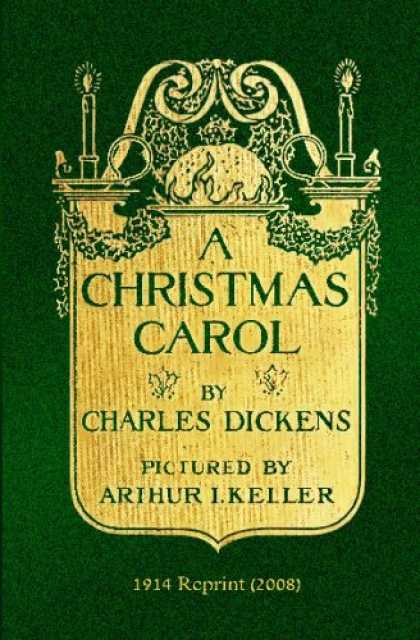 Charles Dickens Books - A Christmas Carol: 1914 Reprint (2008 Vintage Edition)