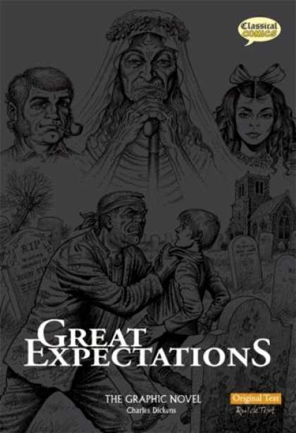 Charles Dickens Books - Great Expectations: Original Text: The Graphic Novel (British English)
