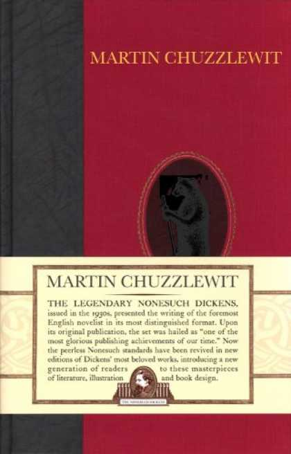 Charles Dickens Books - Martin Chuzzlewit (Nonesuch Dickens)
