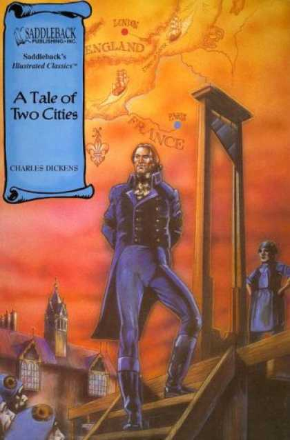 Charles Dickens Books - A Tale of Two Cities (Saddleback's Illustrated Classics)