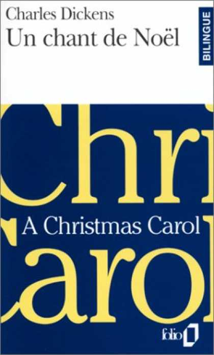 Charles Dickens Books - Un Chant De Noel / A Christmas Carol (French Edition)