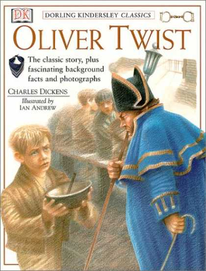 Charles Dickens Books - Oliver Twist (Dorling Kindersley Classics; Book & Cassette)