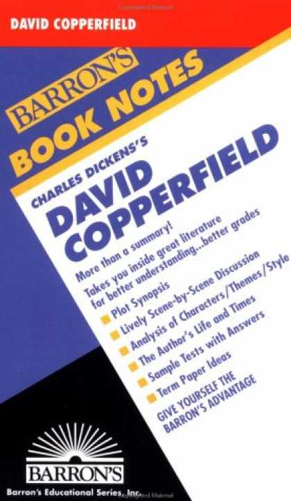 Charles Dickens Books - David Copperfield (Barron's Book Notes)
