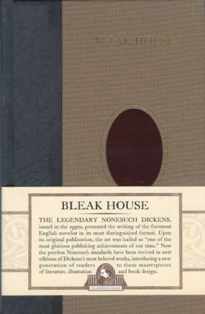 Charles Dickens Books - Bleak House (Nonesuch Dickens)