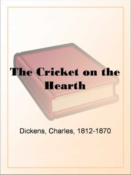 Charles Dickens Books - The Cricket on the Hearth