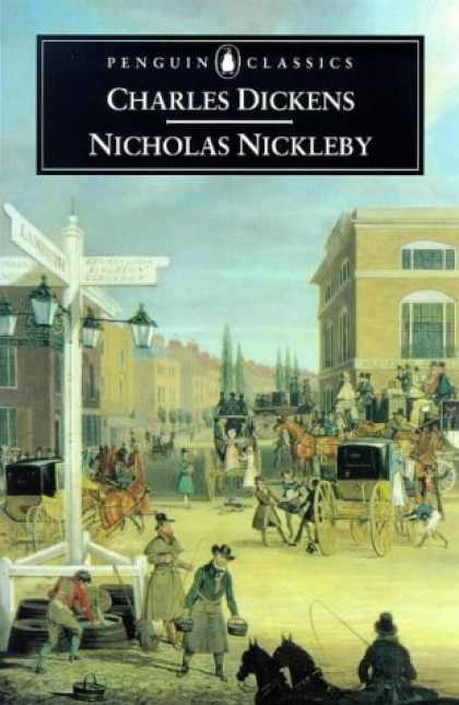 Charles Dickens Books - Nicholas Nickleby (Penguin Classics)