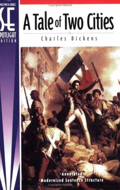 Charles Dickens Books - A Tale of Two Cities, Spotlight Edition