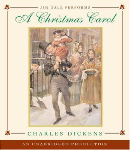Charles Dickens Books - A Christmas Carol read by Jim Dale