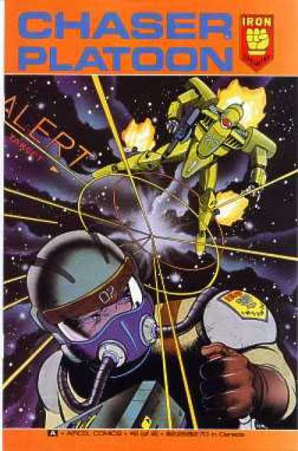 Chaser Platoon 2 - Space Chaser - Iron Man - Space Flyer - Space Comics - Space Duel