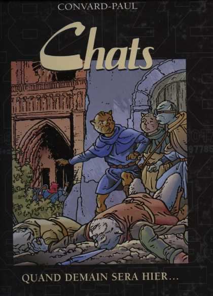 Chats 2 - Convard-paul - Castle - Cat - Quand Demain Sera Hier - Fighting