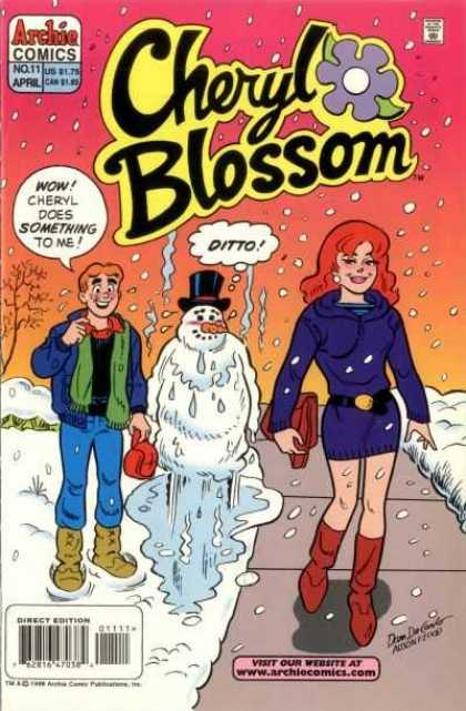 Cheryl Blossom 11 - Melting Snowman - Snow - Archie - Hot Girl - Winter Scene