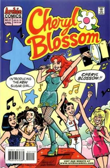 Cheryl Blossom 21 - Redhead - Teenage Girls - Music - Stage - Spotlight - Holly Golightly