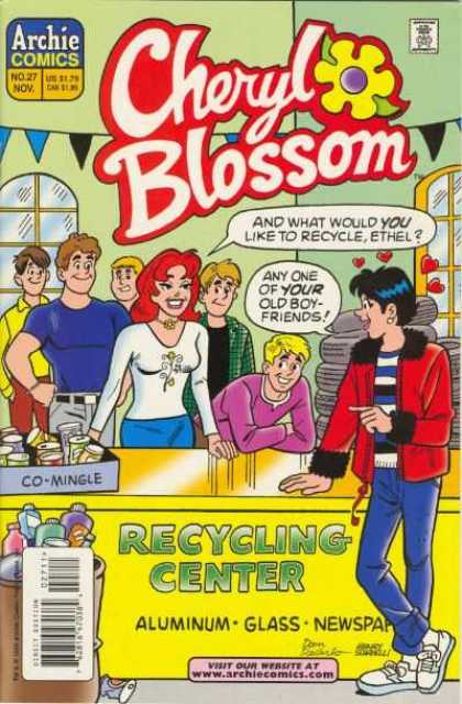 Cheryl Blossom 27 - Archie - Ethel - Recycling Center - Aluminum - Glass