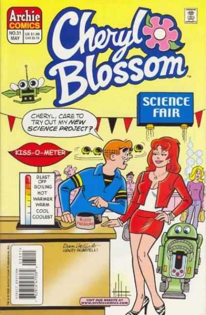 Cheryl Blossom 31 - Archie - Science Fair - Kiss-o-meter - Robot - Science Project