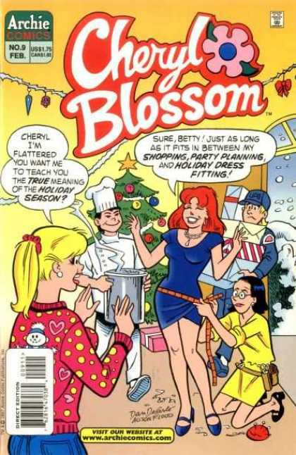 Cheryl Blossom 9 - Girls - Chef - Mailman - Tree - Snow