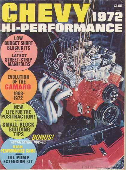 Chevy High Performance - January 1972