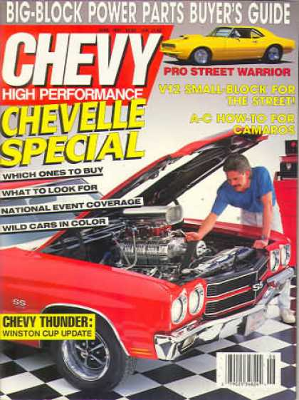 Chevy High Performance - June 1991