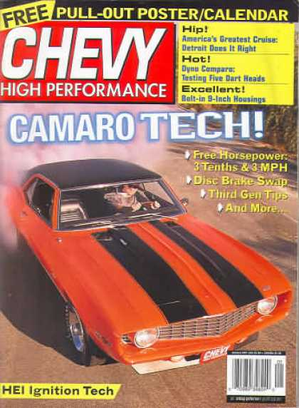 Chevy High Performance - January 2001