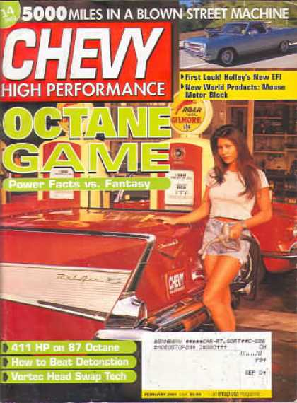 Chevy High Performance - February 2001