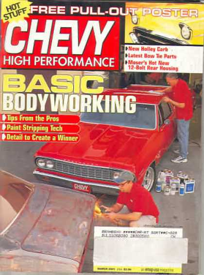 Chevy High Performance - March 2001