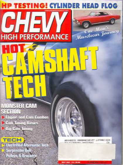 Chevy High Performance - May 2001