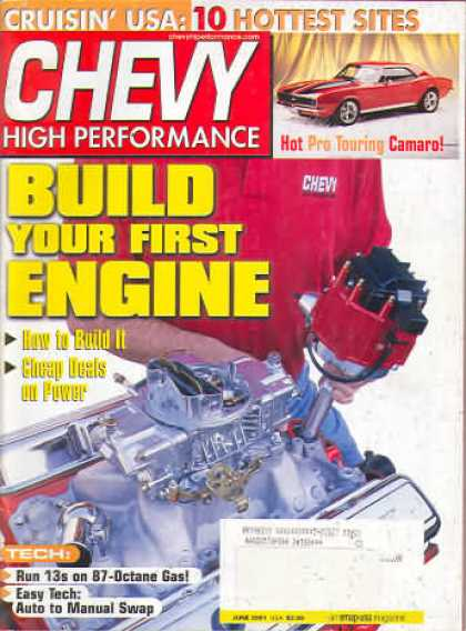 Chevy High Performance - June 2001
