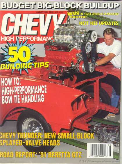 Chevy High Performance - August 1991