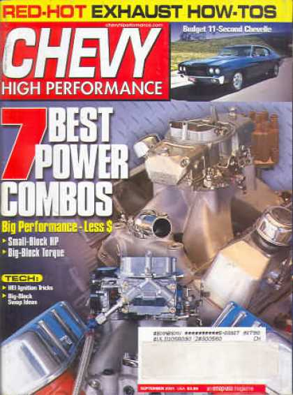 Chevy High Performance - September 2001