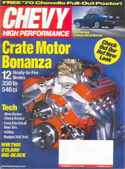 Chevy High Performance - November 2001