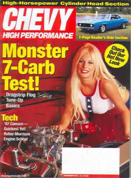 Chevy High Performance - December 2001
