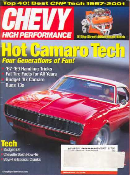 Chevy High Performance - January 2002