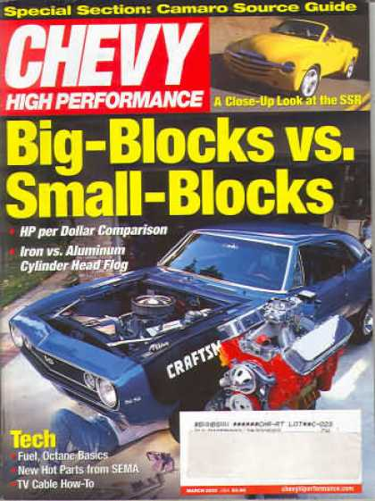 Chevy High Performance - March 2002