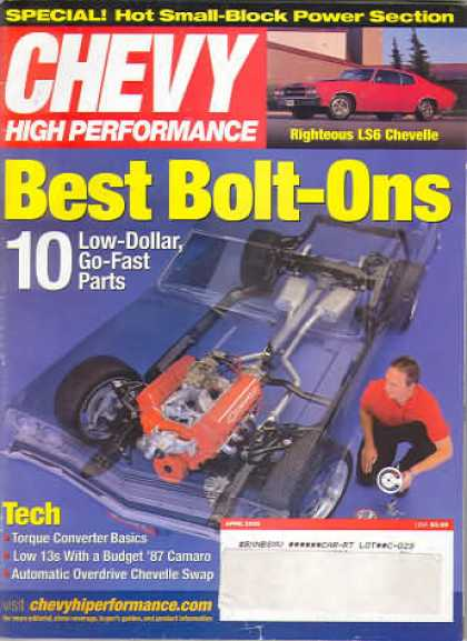 Chevy High Performance - April 2002