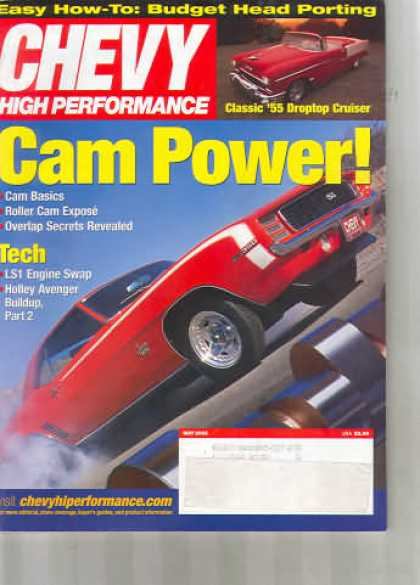 Chevy High Performance - May 2002