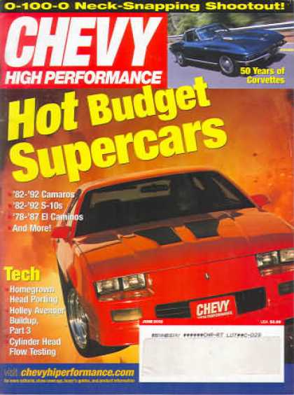 Chevy High Performance - June 2002