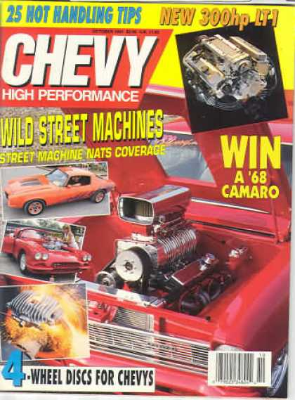 Chevy High Performance - October 1991