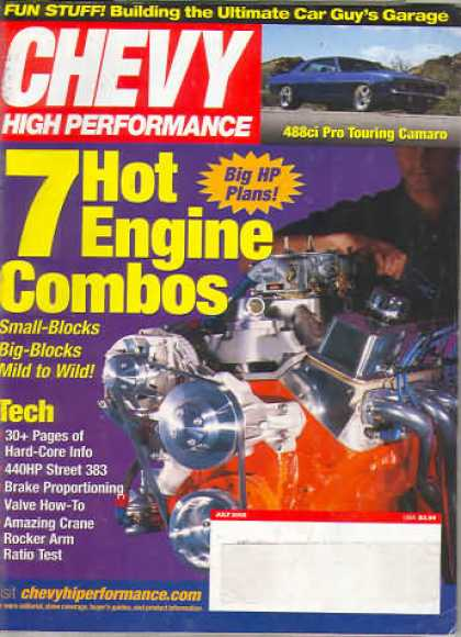 Chevy High Performance - July 2002