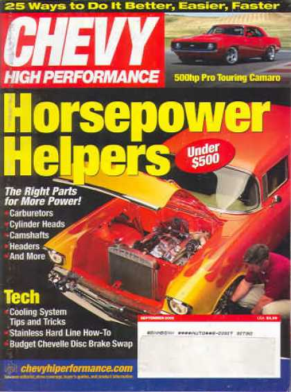 Chevy High Performance - September 2002