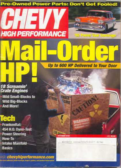Chevy High Performance - October 2002