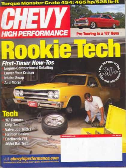 Chevy High Performance - November 2002